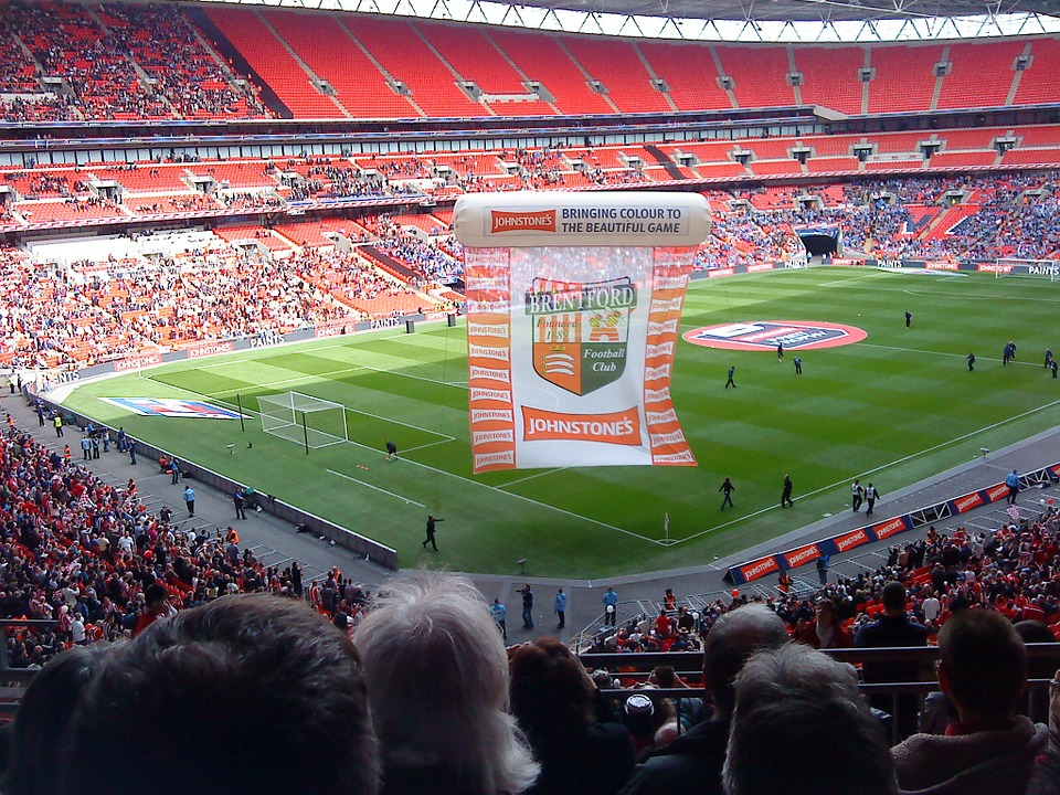 Wembley, Stadium, Soccer, Football, Sport, Competition