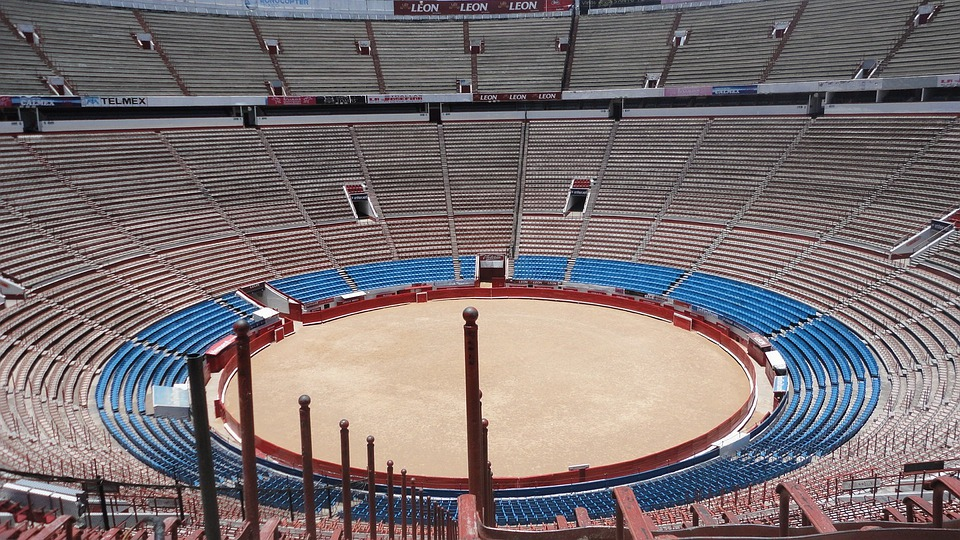 Stadium, Bullring, Arena, Bullfighting Arena, Sports