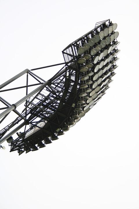 Stadium Spotlight, Stadium, Munich, Olympic Stadium