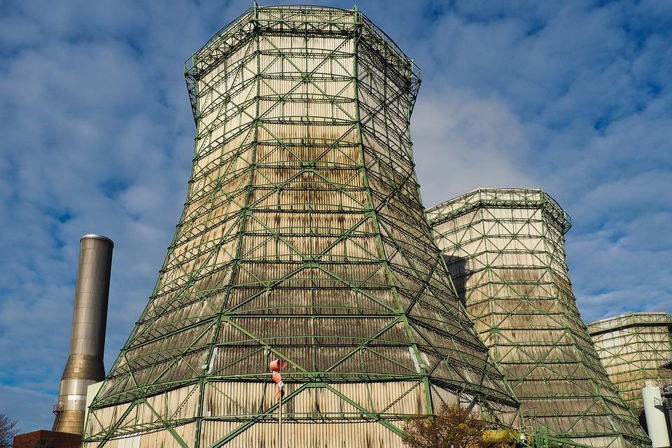 Cooling Towers, Stadtwerke, Power Generation