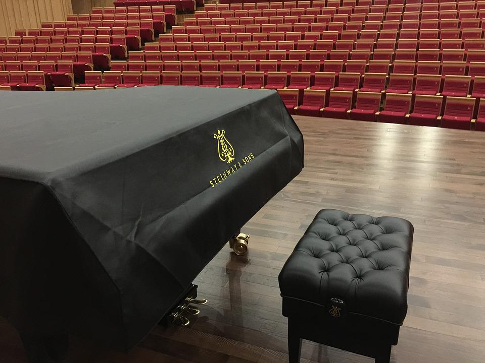 Changsha Concert Hall, Stage, Steinway Piano