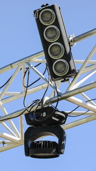 Lighting, Equipment, Spotlight, Stage, Concert