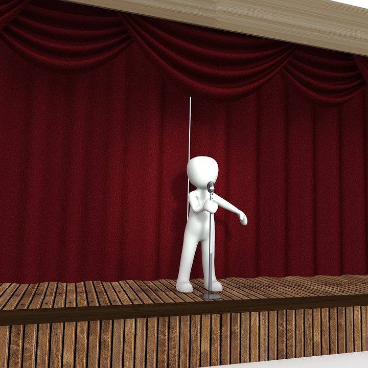 Free photo Stage Red Curtain Start Theater Show - Max Pixel