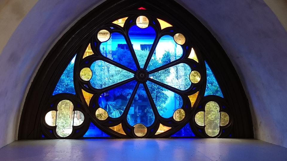 Stained Glass, Church Window, Stained Glass Window