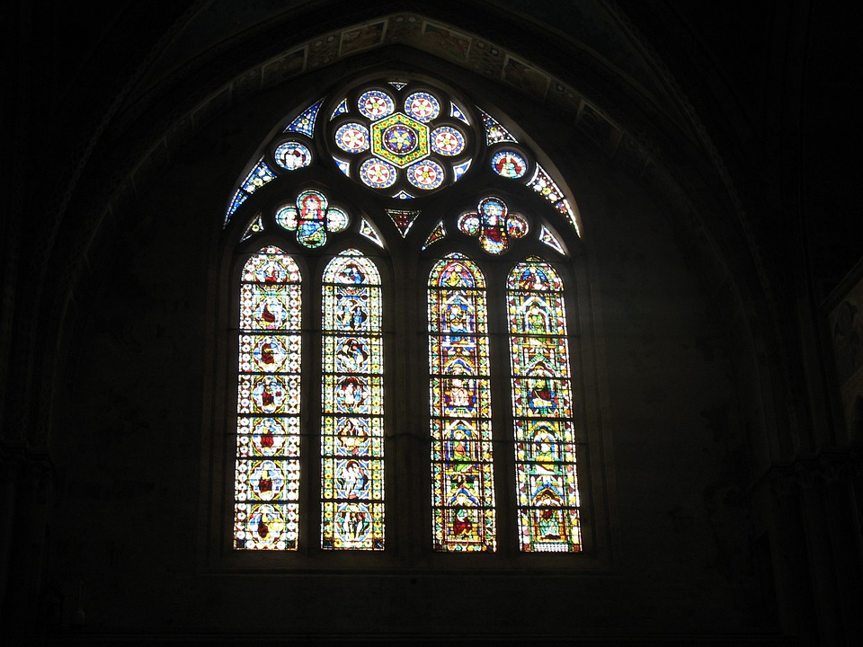 Stained Glass, Window, Church, Glass, Chapel