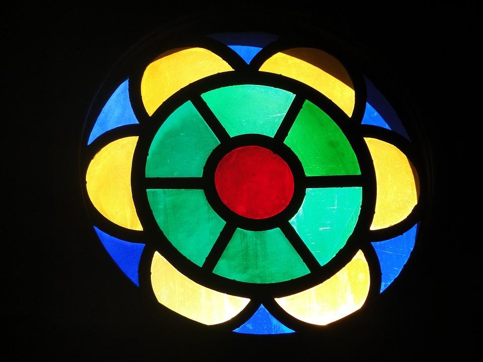 Chapel, Stained Glass, Glass, Art, Sacra, Church