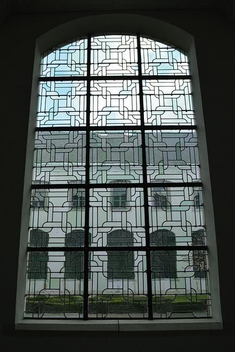 Architecture, Stained Glass Window, Building