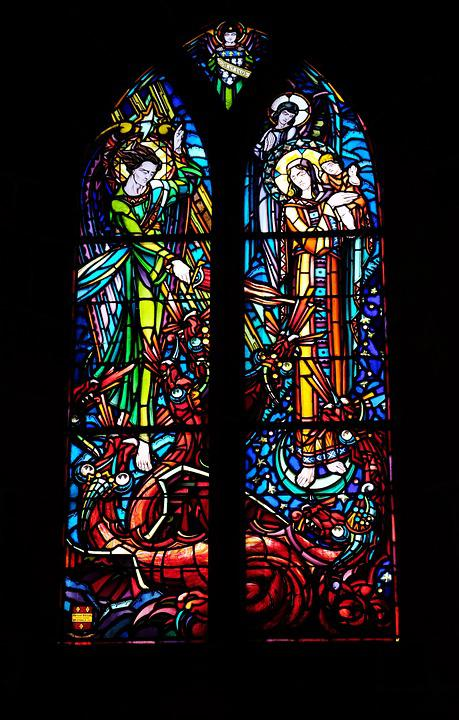Church, Heritage, Colors, Stained Glass Windows