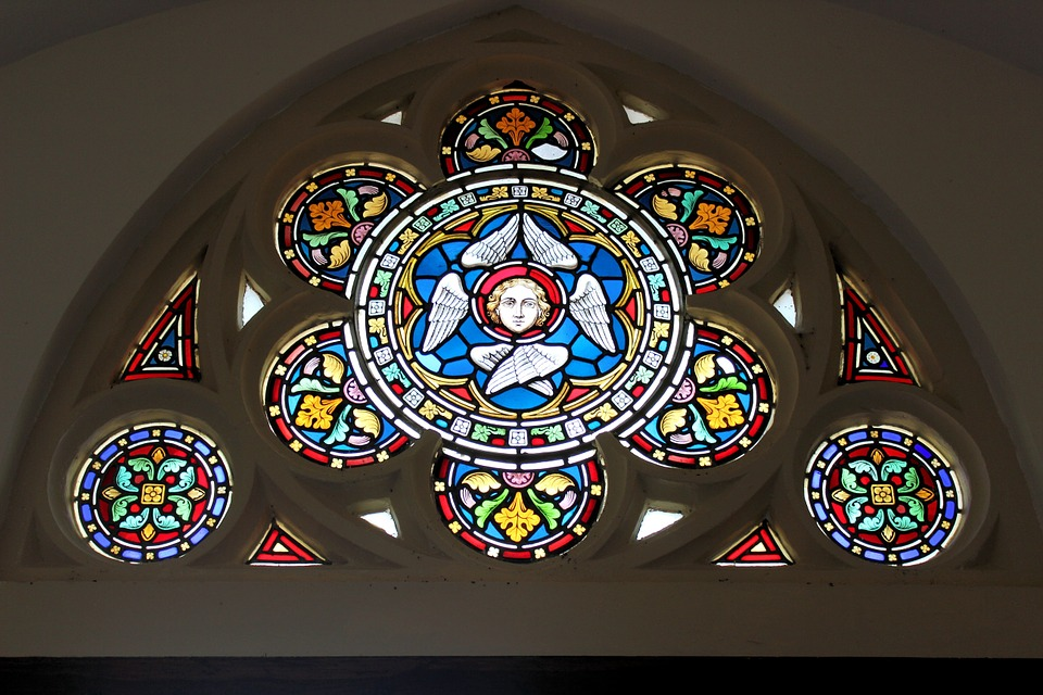 Church, Stained Glass, Stained, Window, Mosaic