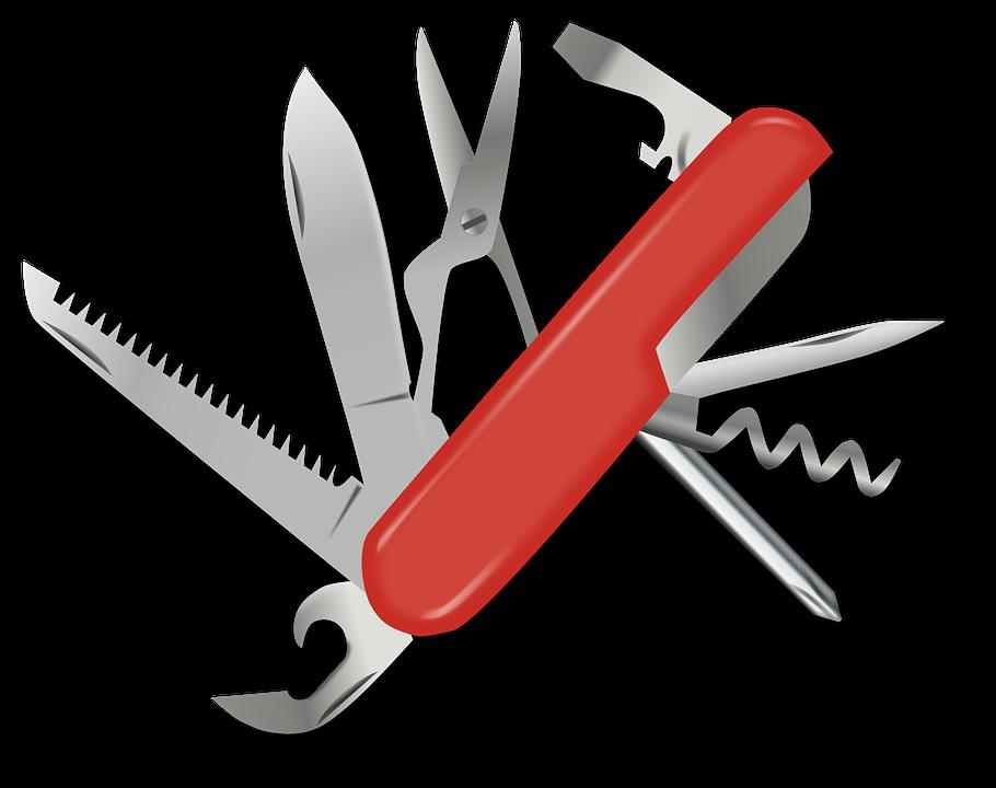 Swiss Army Knife, Pocket Knife, Blade, Stainless, Swiss