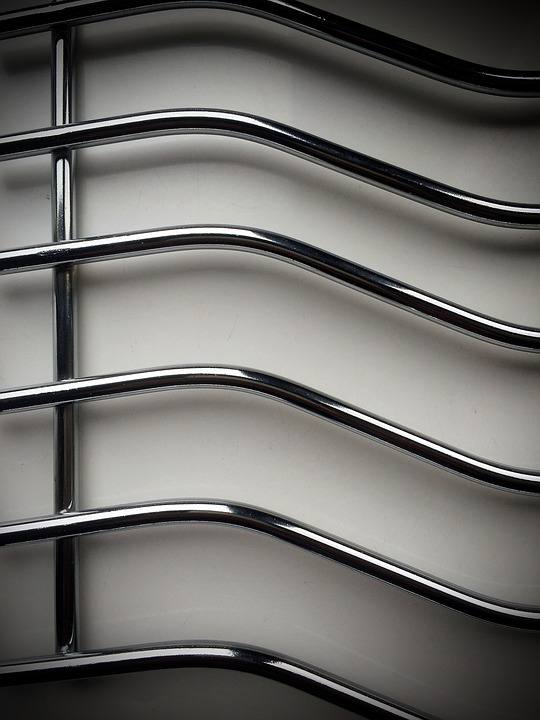 Stainless Steel, Closeup, Pattern