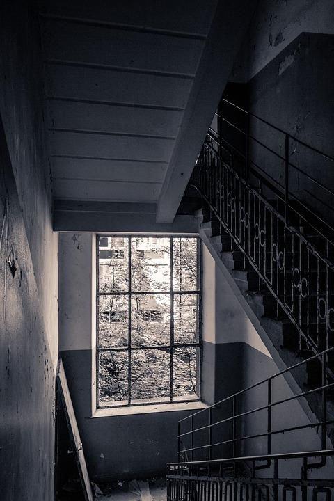 Stairs, Staircase, Architecture, Old Building, Old