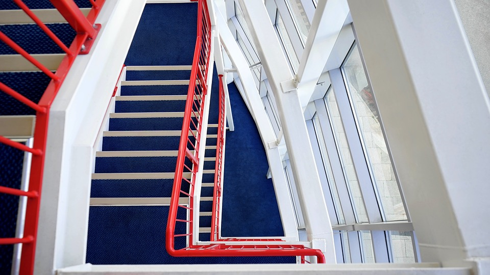 Free photo Staircase Stairs Construction Stairwell Stairway - Max Pixel