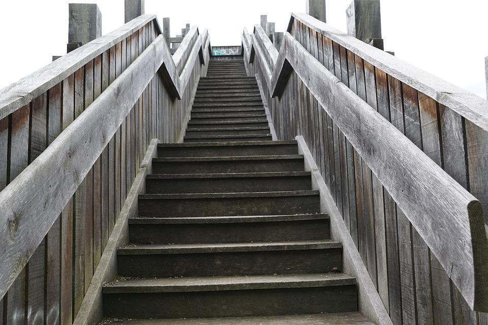 Stairs, Level, Emergence, Architecture