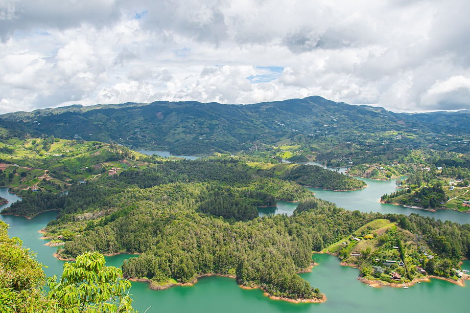 Guatape, The Peñol, Colombia, Rock, Climbing, Stairs