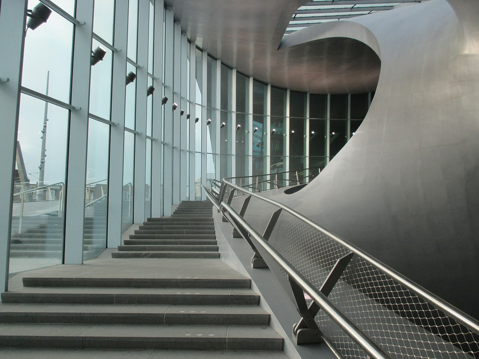 Stairs, Modern Architecture, Arnhem, Design