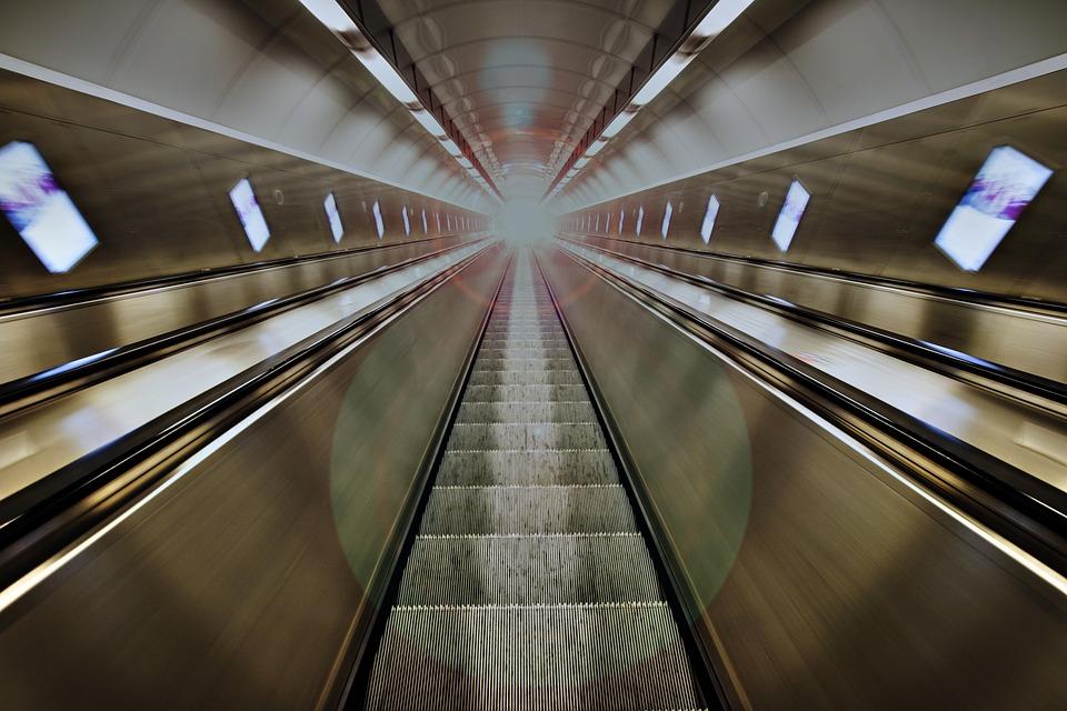 Escalator, Stairs, Stairway, Staircase, Transport
