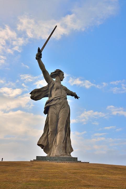 Volgograd, Mother Motherland, Stalingrad Metro Station