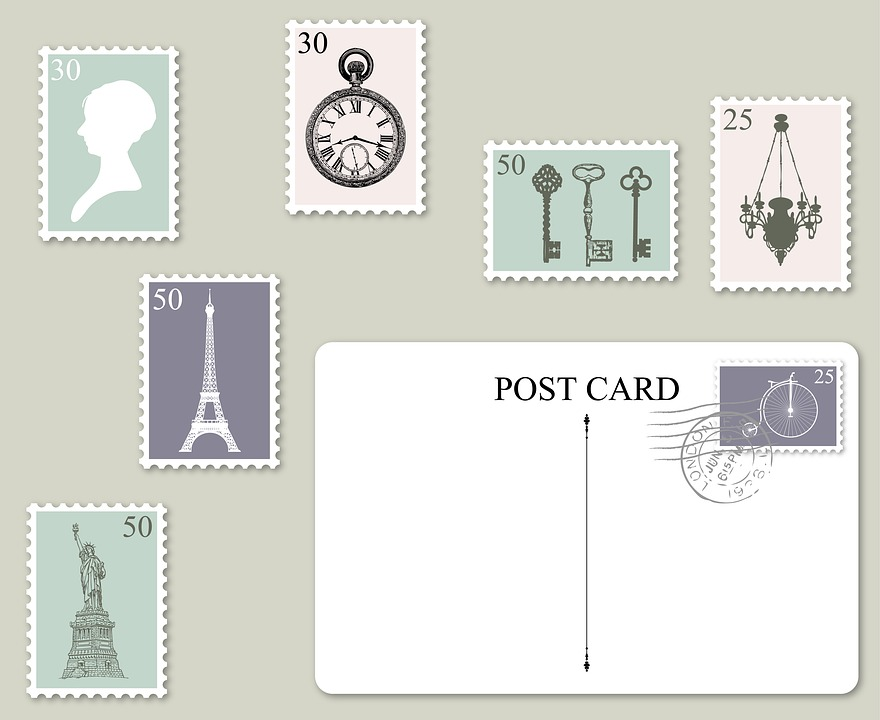 free photo stamps postage postcard postmark postage stamp max pixel