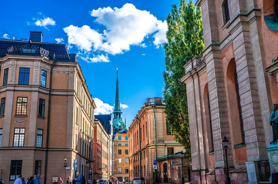 Stockholm, Sweden, Gamla, Stan, Architecture, City