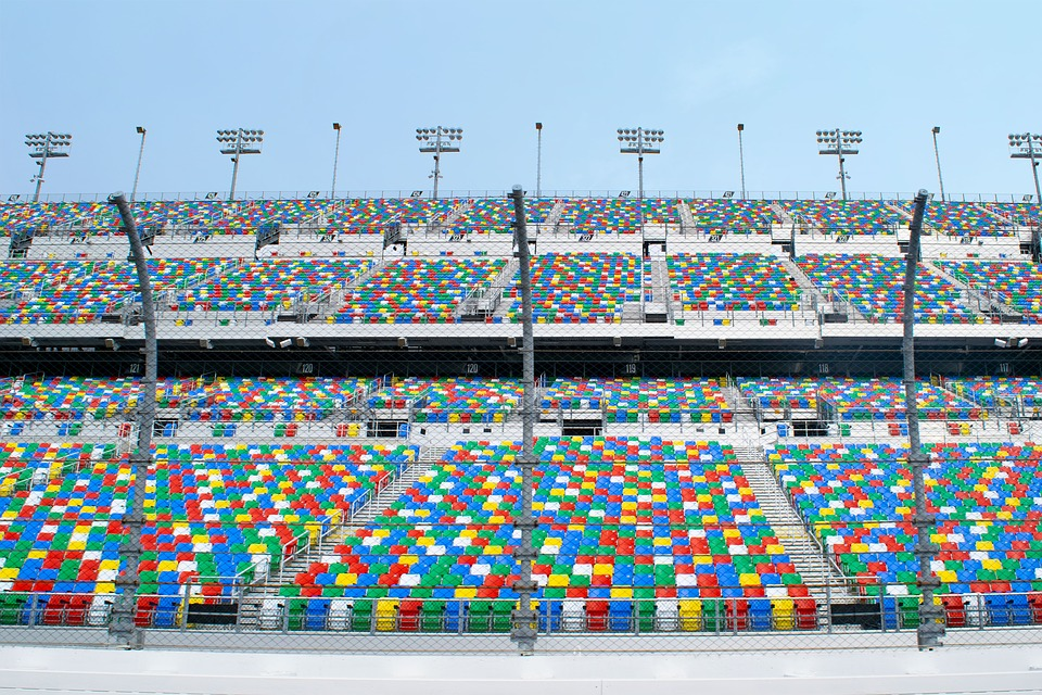 Sports, Seats, Stand, Stadium, Motorsports, Daytona