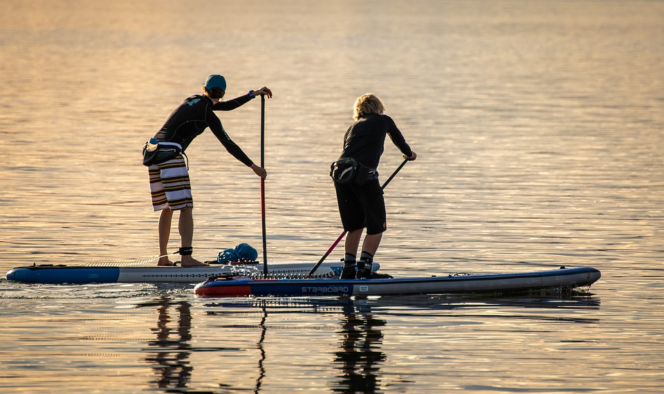 Stand Paddling, Stand Paddle, Sport, Trend Sports