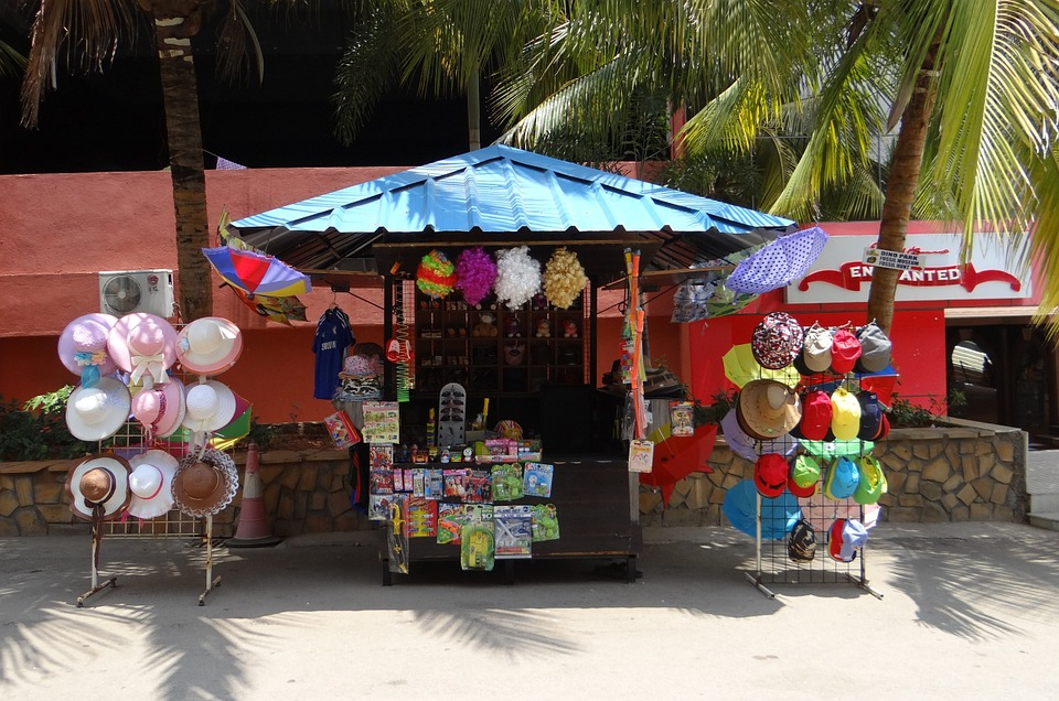 Kiosk, Stall, Stand, Shop, Retail, Sale, Wares
