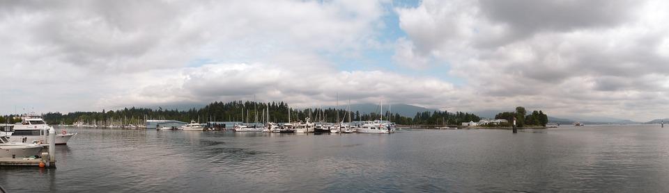 Paronámica, Ocean, Sea, Marina, Stanley, Park, View