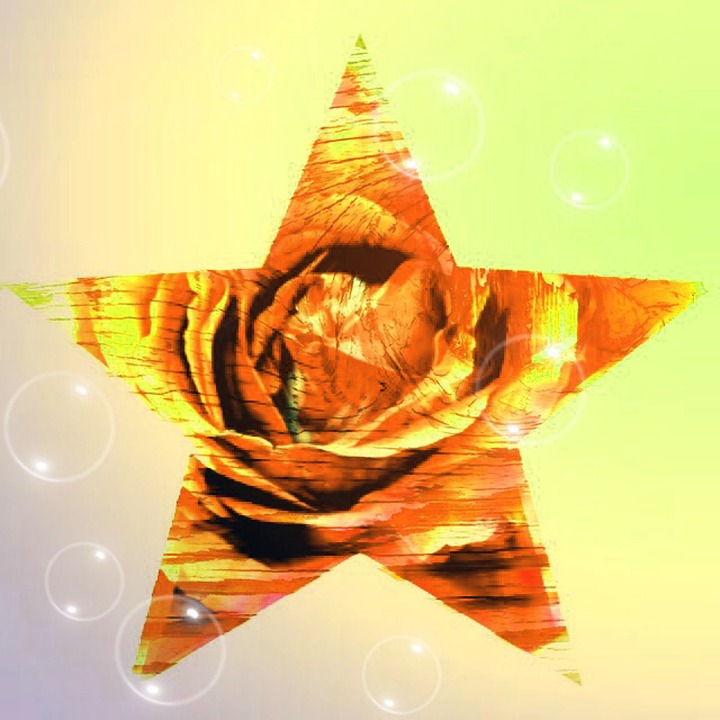 Star, Abstract, Symbols, Pattern, Background