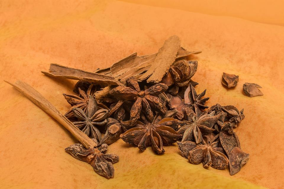 Star Anise, Condiments, Anise, Aroma
