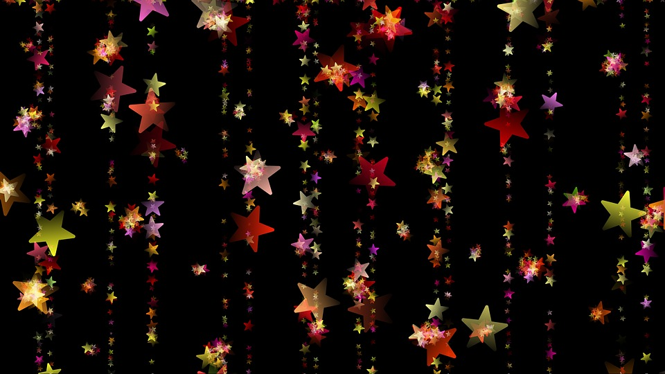 Christmas, Star, Advent, Golden, Decoration, Background