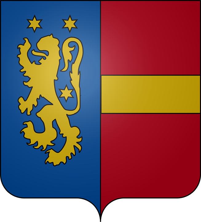 Coat Of Arms, Orp-jauche, Lion, Star