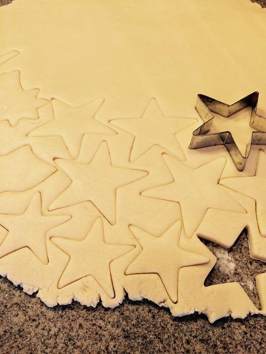 Sugar Cookies, Cookies, Star Cookies, 4th Of July