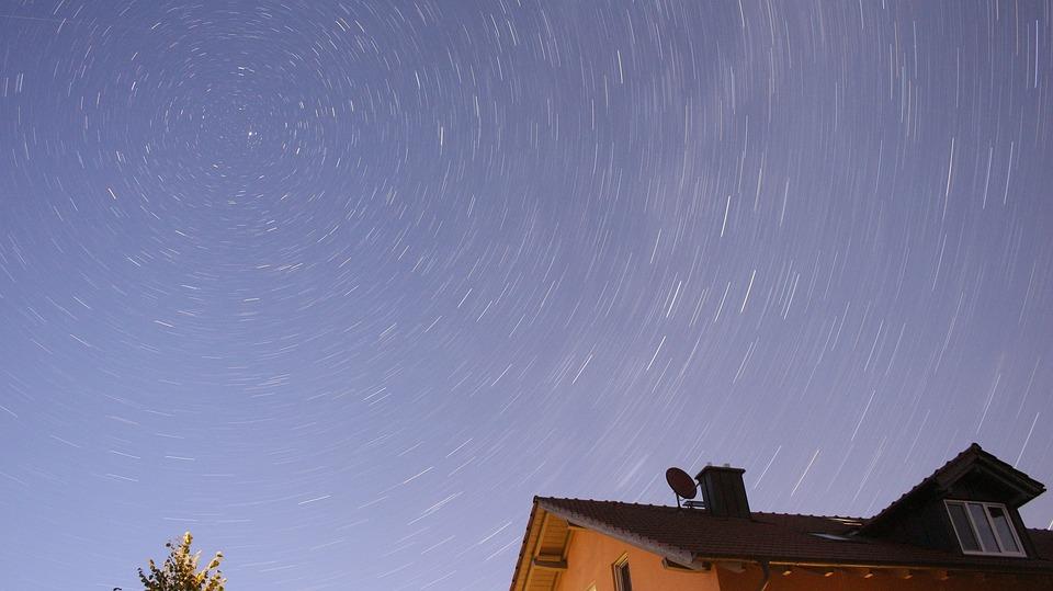 Star, Home, Night, Dark, Starry Sky, Night Sky, Light
