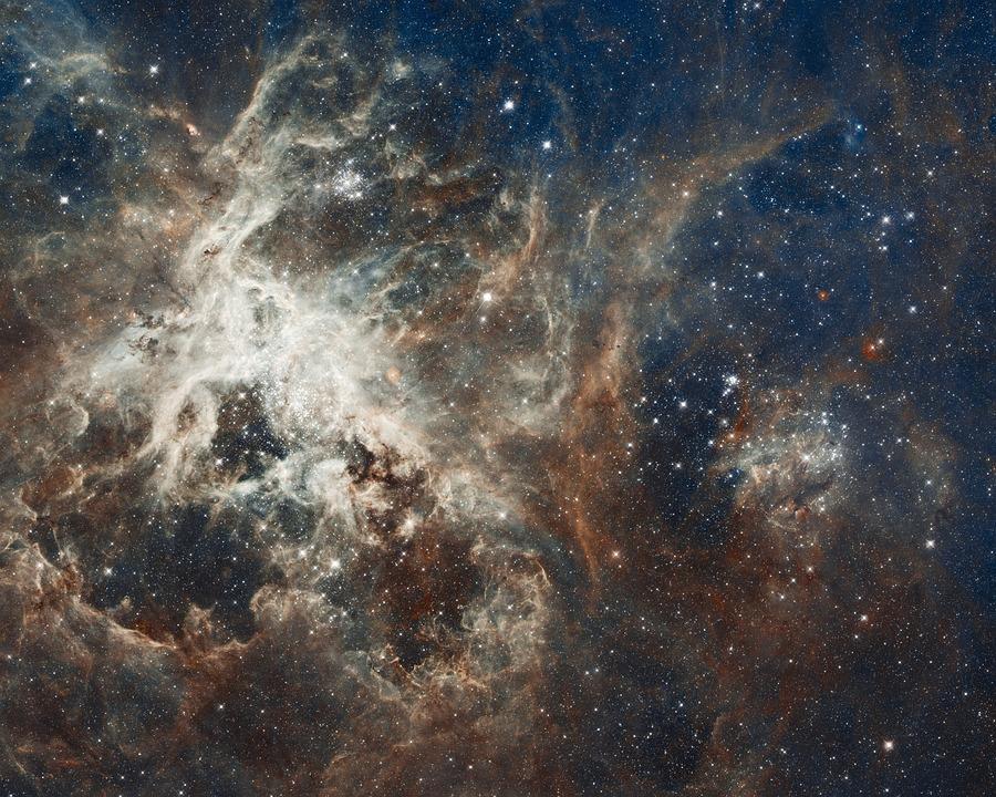 Galaxy, Star, Tarantula Nebula, 30 Doradus, Ngc 2070