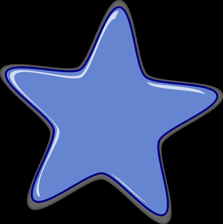 Star, Purple, Shape, Sky, Night, Symbol, Icon