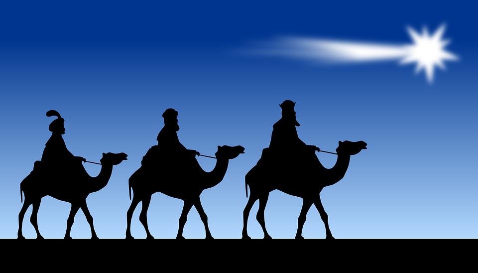 The Three Magi, Magi, Mags, Orient, Star Of Bethlehem