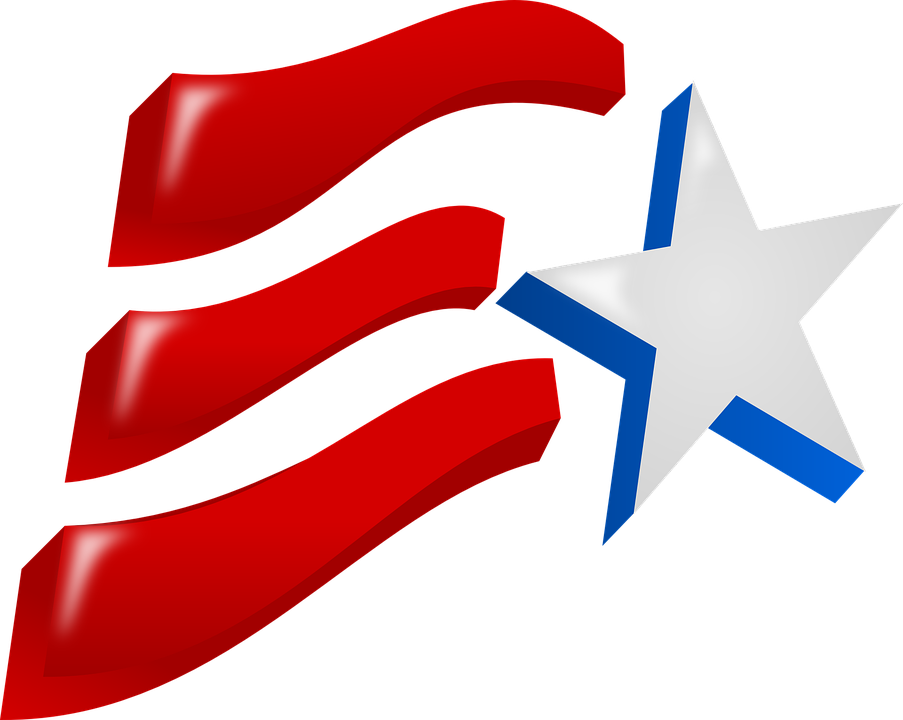 Star, Flag, Red, Symbol, Stripes