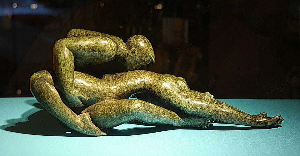 Sculpture, Love, Starnberg, Figures, Lovers