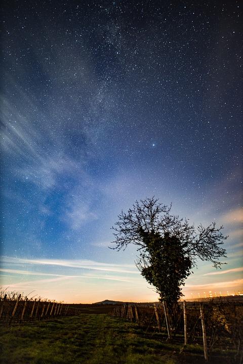 Star, Landscape, Starry Sky, Night Sky, Sky, Night