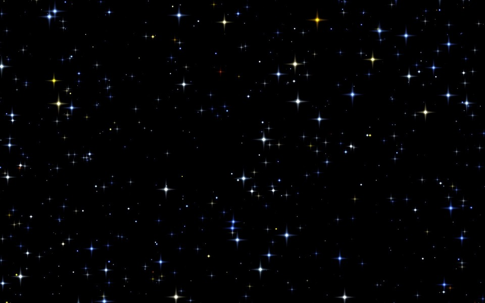 Star Field, Stars, Abstract, Background, Black Field