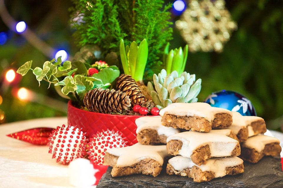 Stars Cinnamon Ice, Christmas, Festival, Food