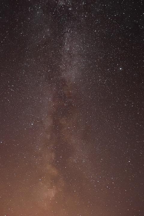 The Milky Way, Stars, Cosmos, Galaxy, Night Sky