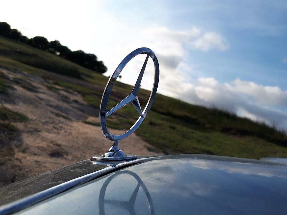 W123, Mercedes, Transportation, Stars, Sky