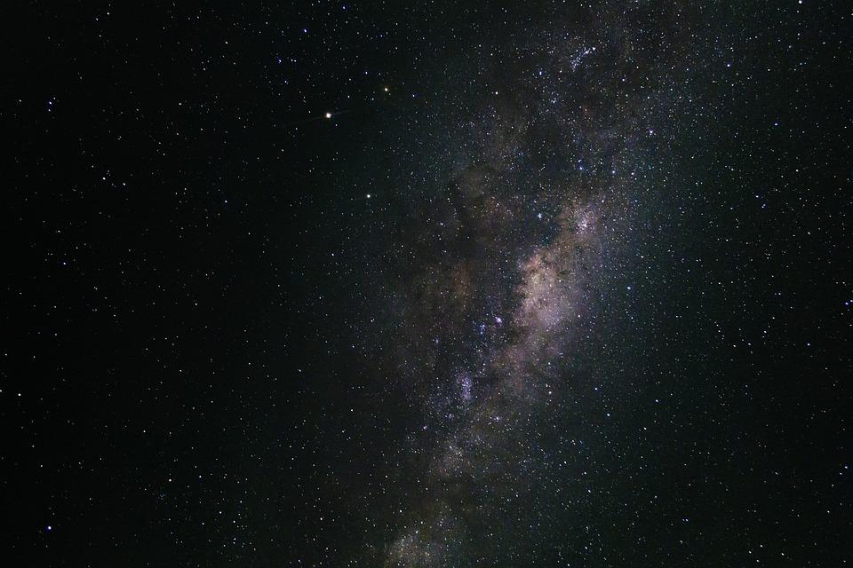 Milky Way, Nebula, Space, Stars