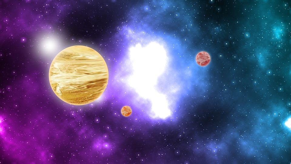 Space, Galaxy, Stars