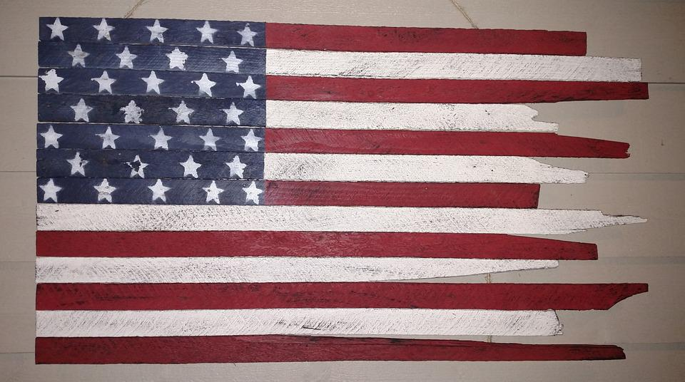American Flag, Starsandstripes, Freedom, Reclaimedwood