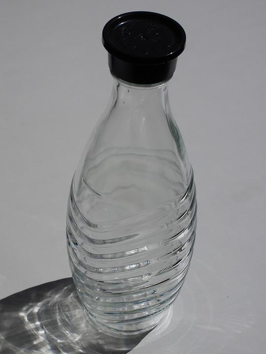 Glass Carafe, Carafe, Bottle, Glass Bottle, Start