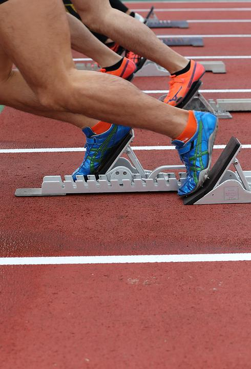 Start Dash, Athletics, Dash, Run, Sprint