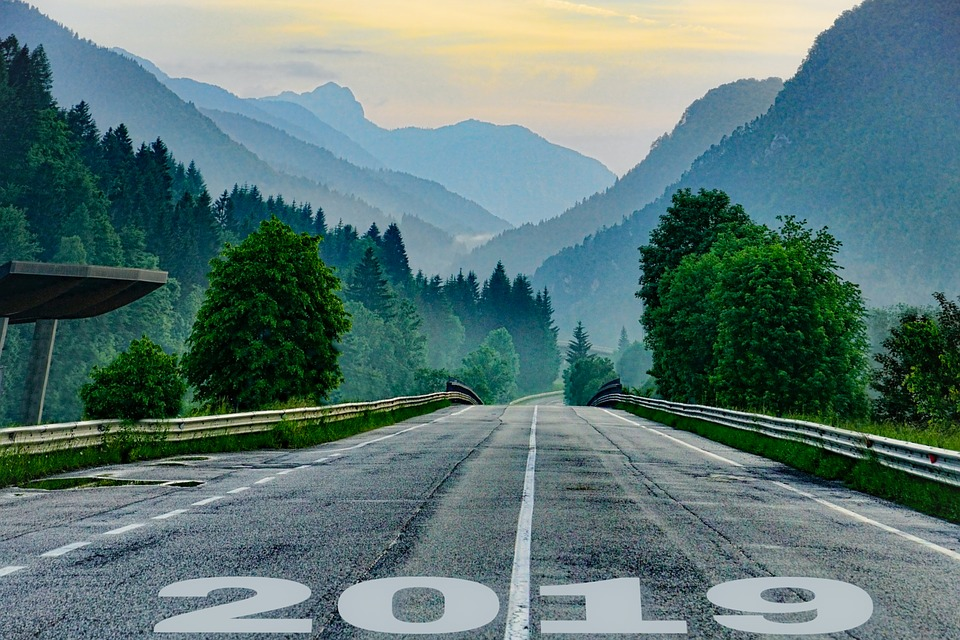 Start Line, Starting, New Year, 2019, Concepts